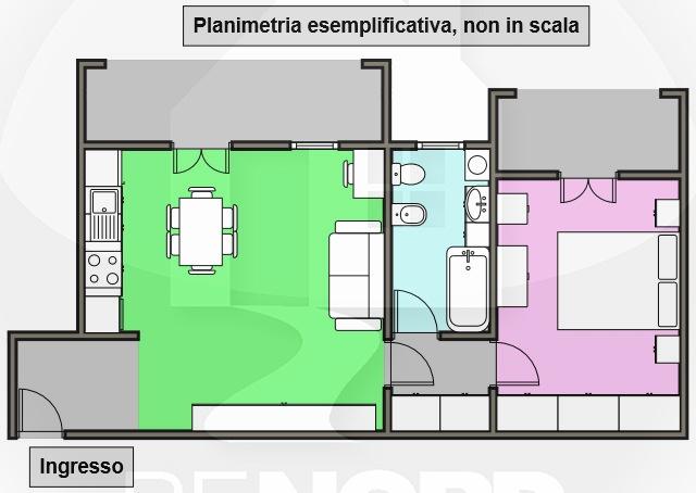 appartamento affitto marzano